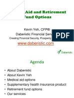 Daberistic - Medical Aid and Retirement Fund Services March 2016