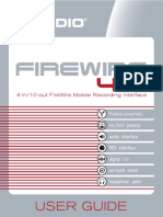 Manual FireWire 410 (ENGLISH)