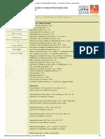 Formação e Caracterização Dos Solos - Formulário, Símbolos e Abreviaturas
