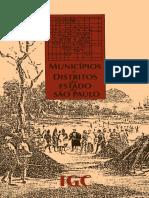 Municipios e Distritos