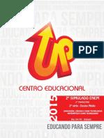 SIMULADO ENEM - Linguagens, Códigos e Matemática - 2º Ano - GABARITADA