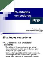 25 atitudes vencedoras