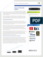 VMware View Nutanix Desktop Virtualization Solution Brief