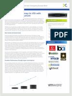 VMware View Nutanix Desktop Virtualization Solution Brief
