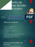 Diseño de Patrones Builder Decorator