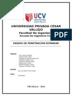 ENSAYO DE PENETRACIÓN ESTANDARD