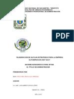 Monografia de Planemaiento Estrategico
