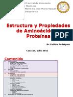 Estructura y Propiedades de Aminocidos y Protenas - Fabin Rodrguez