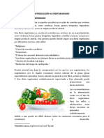 Introducción Al Vegetarianismo