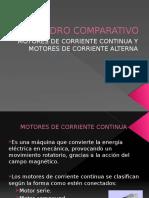 cuadrocomparativo Motores CA y CD