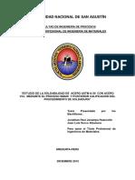 1. Estudio de La Soldabilidad de Acero Astm a-36 Con Acero Vcl Mediante El Proceso Smaw y Pos
