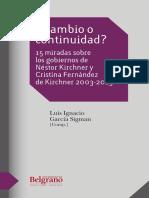 La vocación fundacional de Alfonsín a Kirchner