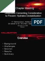 Halliburton Deepwater Cementing Powerpoint