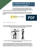 Principio de La Conservación de La Cantidad de Movimiento Angular 222