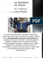 search seizures student rights