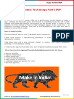 Modi Schemes - Technology Part 3 PDF