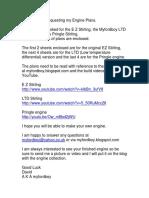 EZ LTD and Pringle Stirling Plans