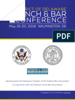Bench and Bar Conference Agenda