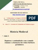 História Medieval Aula3