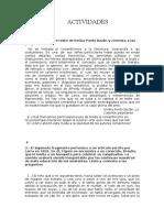 ACTIVIDADES literatura SXIX