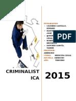 Trabajo Criminalistica Agregado