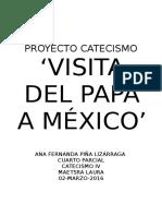 Papa en Mexico Discursos RESUMIDOS