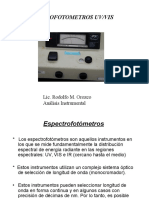 Espectrofotometros Uv