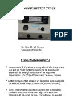Espectrofotometros Uv