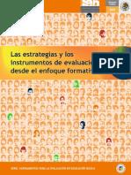 Las Estrategias y Los Instrumentos de Evaluación Desde El Enfoque Formativo