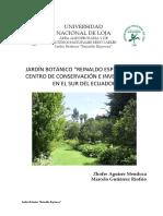 Jardín Botánico Reinaldo Espinosa