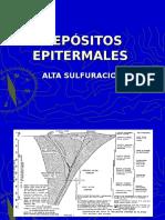 DEPOSITOS EPITERMALES ALTA SULFURACION.ppt