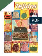 Tejidos Con Gancho y Agujas - Revista de Bolsos Tejidos