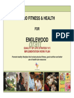 Englewood Food Fithess and Health Plan 2011