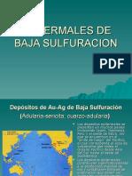Depositos Epitermales Baja Sulfuracion