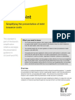 Accounting for Debt Issuance Costs