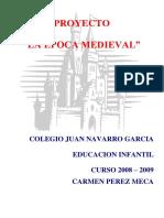 Proyecto La Epoca Medieval