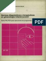 Normas Diagnosticas y Terapeuticas en Ginecologia Infanto Juvenil