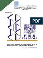 Manual de Informe Final de Servicio Social Vigente