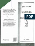 La Naturaleza Del Trabajo Directivo. Henry Mintzberg Capítulos 3 y 4