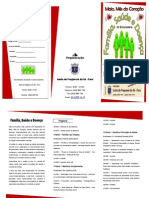 III Encontro Familia Saude Doença Programa