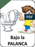 Letrero WC