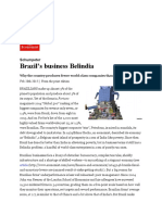 Brazil's Business Belindia