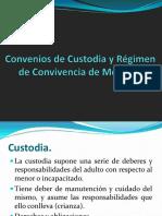 Convenios de Custodia y Régimen de Convivencia