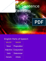 English Sentence Patterns.ppt
