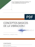 Conceptos Basicos de Vibraciones mecánicas