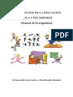 Manual de Educacion Fisica y Deporte