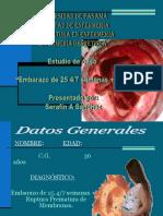 proceso ruptura de membras_ANTEPARTO.ppt