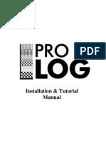 pro log Installation & Tutorial Manual