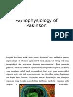 Pathophysiology of Pakinson