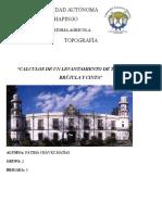 Practica Topografia Levantamiento Con Brujula